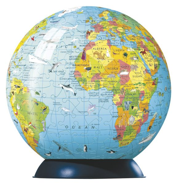 Large Childrens Earth puzzleball